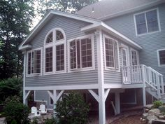 As soon as you tighten up your sunroom, remember to enjoy it! Your sunroom is just the same. Employing an expert to install or update your sunroom can assure Beautiful Houses Interior, Beautiful Homes, Sunroom Windows, Four Seasons Room, Three Season Room, Sunroom Addition, Patio Enclosures, Room Additions, House Doctor