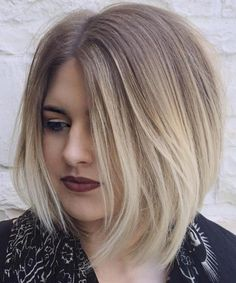 Best Short Hairstyles 2018 for Round Faces