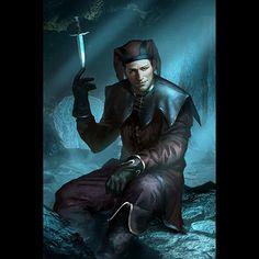 Skyrim / The Elder Scrolls Legends Artwork The Elder Scrolls, Elder Scrolls Games, Elder Scrolls V Skyrim, Elder Scrolls Online, Fantasy Character Design, Character Inspiration, Character Art, Cicero Skyrim, Dragonborn Skyrim