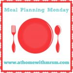 Meal Planning Monday 21st September 2015 - Life According to MrsShilts