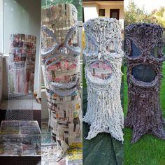 Diy halloween scary tree
