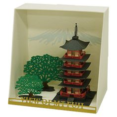 Buy Paper Nano Five Storied Pagoda Online at johnlewis.com