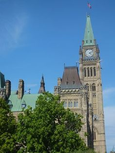 A stroll around Parliament Hill is one of the best things to do in Ottawa, Canada. Ottawa Ontario, Canada, Montreal, Big Ben, Places Ive Been, Travelling, Buildings, Tower, Peace