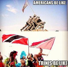 Trinidad whey yuh flag!