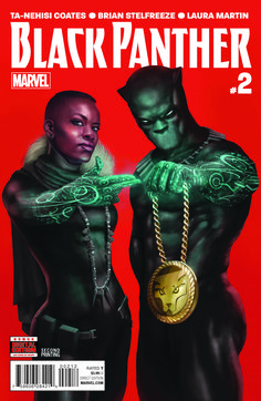 Black Panther #2 has sold out and Marvel is already working on a second printing. And this second printing is getting some pretty some awesome treatment as T'Challa brings in the critically acclaimed hip-hop super group RUN THE JEWELS! Artist Rahzzah has created a brand new image for the second printing featuring T'Challa and Shuri …