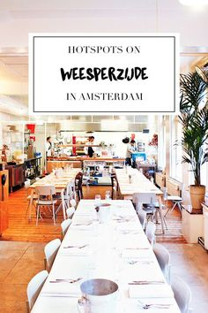 """Visiting the Weesperzijde in Amsterdam East? Make sure you visit some of the hotspots listed on travel blog http://www.yourlittleblackbook.me, including the best spots for coffee, bars and restaurants. Planning a trip to Amsterdam? Check http://www.yourlittleblackbook.me/ & download """"The Amsterdam City Guide app"""" for Androi…"""