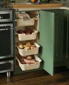 Fresh Produce Drawer Storage