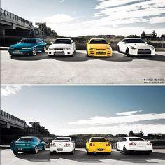 Pick your favorite! nissan gtr r32 r33 r34