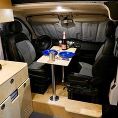 The 5 Best Affordable RVs and Camper Vans for Sale Diy Interior, Modern Interior, Used Camper Vans, Mobile Office, Rv Campers, Camper Diy, Van For Sale, Portable Toilet, Camper Conversion