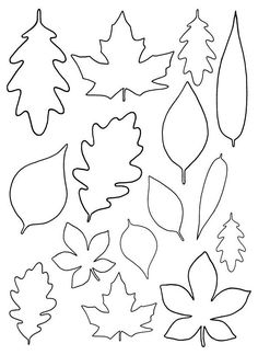 Fall Paper Crafts, Paper Flowers Craft, Felt Flowers, Flower Crafts, Diy And Crafts, Recycled Crafts, Spring Crafts, Wood Crafts, Fall Leaf Template