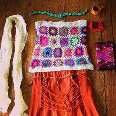 72f815c56b394  crochet  fringe  turquoise. Dark Star Visuals