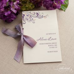 Cherish Paperie Blog: Featured Programs {Bat Mitzvah Program Designer}