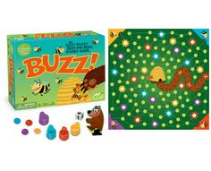 Buzz! The Bizzy Buzzy Beat-The-Bear Cooperative Board Game GM110