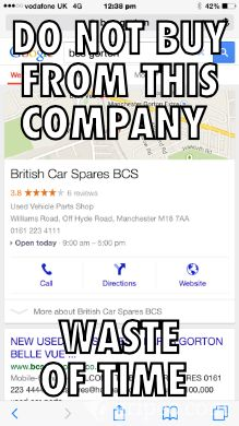 Check out this British car spares  meme!