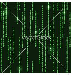 Matrix background vector 1067208 - by Prikhnenko on VectorStock�