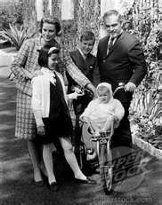 Monacos Royal Family ~ Princes Grace and Prince Rainier with the Young Princesses and Young Prince
