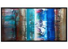 """abstrakte Kunst """"Licht & Schatten"""" gerahmtes Unikat von Dieu International Artist, Contemporary Paintings, Modern Art, Night, Artwork, Prints, Abstract Art, Art, Abstract Pictures"""