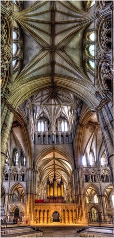 Lincoln Cathedral...
