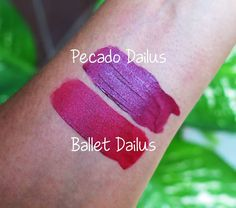 Batons Líquidos Mate Ballet & Pecado | Dailus Pro | Blog Beleza de Creuza! | Amanda Ercília