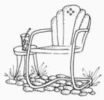 Lockhart Chair, Vintage Garden