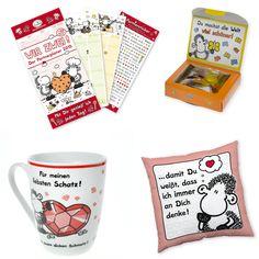 Geschenkset für Paare! http://sheepworld.de/shop/Weihnachten/Geschenk-Sets/Geschenkset-Fuer-Partner.html