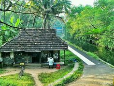 Kerala village.... Kerala Travel, India Travel, Village Photography, Travel Photography, Kerala Architecture, Architecture Design, Best Landscape Photography, Village Photos, Amazing India