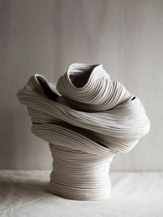 Zhu Ohmu ceramics vessels. Styling – Nat Turnbull. Photo – Amelia Stanwix.