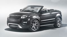 The Range Rover Evoque gets a makeover with a new convertible option and exciting touch screen.