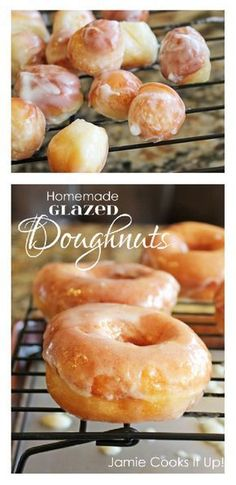 Homemade Doughnuts Jamie Cooks It Up! You will never want to buy doughnuts again… Homemade Doughnuts Jamie Cooks It Up! You will never want to buy doughnuts again after you make this homemade version. These will blow your socks right off. Homemade Doughnut Recipe, Donut Recipes, Baking Recipes, Homemade Doughnuts Easy, Glazed Doughnut Recipe, Doughnut Dough Recipe, Homemade Oatmeal, Homemade Sweets, Donuts