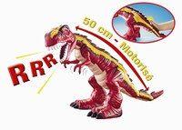 T-Rex motorisé, Dinosaurs pour Mattel - Cadeaux de Noël en urgence - Cet énorme dinosaure motorisé amusera les petits garçons. A l'aide du bouton situé sur la queue du dino, l'enfant déclenche des mouvements et des rugissements plus vrais que nature...