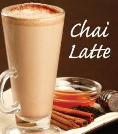 I can never resist a good Chai.  I'm pretty well addicted.