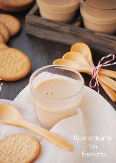 Neus cocinando con Thermomix: Cuajada de galletas maria