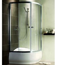 Radaway sprchovací kút oblý Premium A 1700