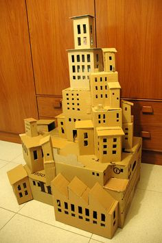cardboard house victor abad