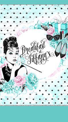 New breakfast at tiffanys wallpaper iphone fashion illustrations 24 Ideas Tiffany Theme, Tiffany And Co, Tiffany Blue, Megan Hess, I Phone 7 Wallpaper, Breakfast At Tiffanys, Mac Breakfast, Arte Pop, Cute Wallpapers