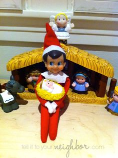 101 shelf elf ideas | Elf on the Shelf ideas, fast elf on the shelf ideas