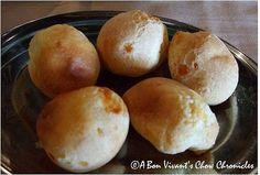Pão de queijo – Brazilian Cheese Rolls (my VERY FAVORITE FOOD.).