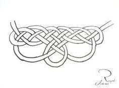 collar de nudos patron - Buscar con Googlequiero aprender como hacerlo es dificil :(