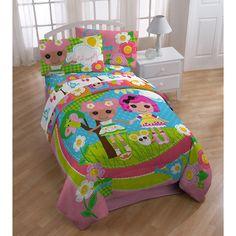 Lalaloopsy Full/Twin Bedding Comforter - Walmart.com Courtney's room!