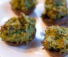 Recipe Stuffed Mushrooms by Erica Noble, learn to make this recipe easily in your kitchen machine and discover other Thermomix recipes in Starters. Vegetarian Cheese, Vegetarian Recipes, Cooking Recipes, Bellini Recipe, Recipe Community, Savory Snacks, Mushroom Recipes, Main Meals, Food For Thought