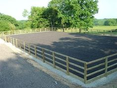 How To Erect A Riding Arena From McVeigh Parker | McVeigh Parker Farming, Fencing and Equestrian News.