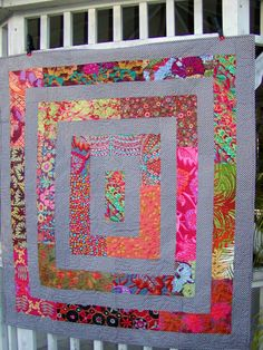Around the Block Quilt with Kaffe Fassett by LucaBoutique on Etsy, $350.00