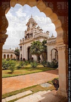 Inch Print - High quality print (other products available) - Facade view of a Palace through arch, Chowmahalla Palace, Hyderabad, Andhra Pradesh, India - Image supplied by Fine Art Storehouse - Photo Print made in the USA India Palace, India Images, History Of India, Indian Architecture, Incredible India, Hyderabad, Stock Pictures, Heritage Site, Photo Wall Art