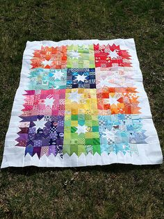 Mo-Stash Bee quilt | Flickr - Photo Sharing!