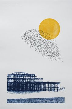 Shane O Driscoll: West Pier Starlings