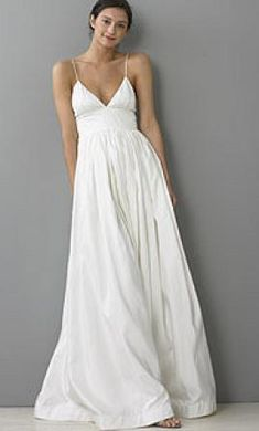 used casual short wedding dress