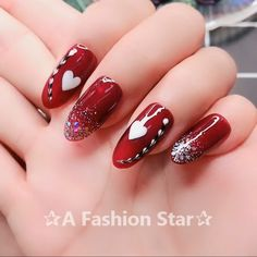 Dots and swipe design 7 Cool Nail Designs - Nail design stickersNail Art In this video I will teach you to make beautiful nail art design hope you will like it. Nail Art Designs Videos, Creative Nail Designs, Nail Art Videos, Simple Nail Art Designs, Nail Art Hacks, Nail Art Diy, Easy Nail Art, Red Nail Art, Red Nails