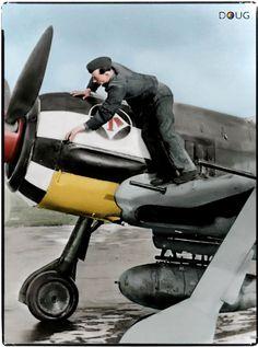 Fw 190A7 (W.Nr. 430352) - 2./JG1 - Dortmund Airfield, Germany - Jan.'44