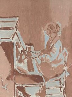 Walter Richard Sickert, Girl playing a piano