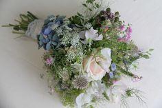 The Flower Magician: Wild Flower Wedding Bouquet